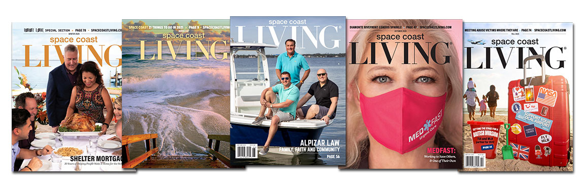 ONE YEAR SUBSCRIPTION TO SPACE COAST LIVING MAGAZINE